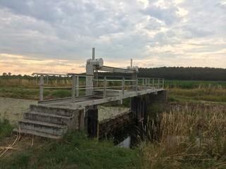 verlassene Brücke