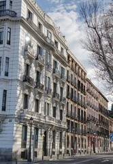immeubles de madrid