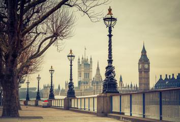 Fototapeta Big Ben and Houses of parliament, London