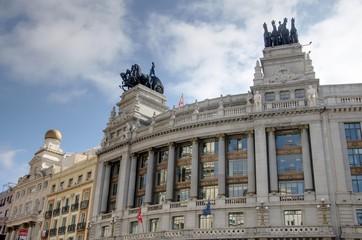 façades de Madrid