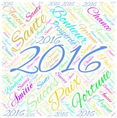 2016 nouvel an et bonne année