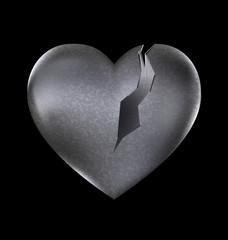 stone broken heart