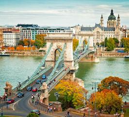 Keuken foto achterwand Boedapest Budapest in autumn