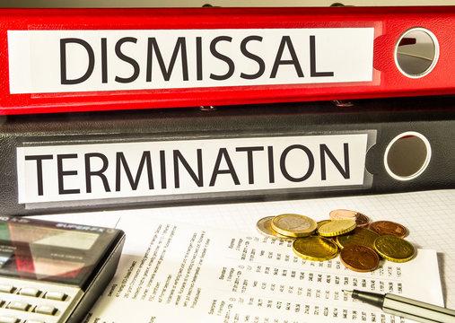 Dismissal - Termination (employer, employee)