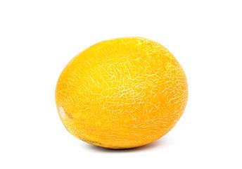 fresh melon on the white bacground