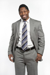 African American Male In Suit