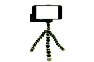 Octopus Tripod  with iphone 1
