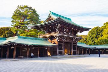 Foto op Aluminium Tokyo Meiji-jingu shrine in Tokyo, Japan