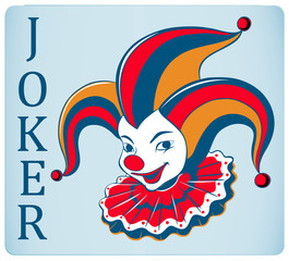 Red nose joker card