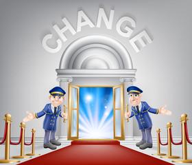 Change Red Carpet Entrance