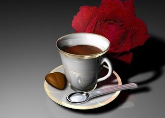 caffè e cioccolatino
