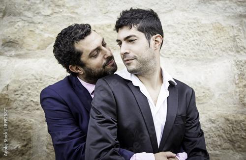 Homo sexual man