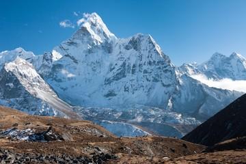 Fototapete - Mt. Ama Dablam, Dingboche, Solukhumbu, Nepal