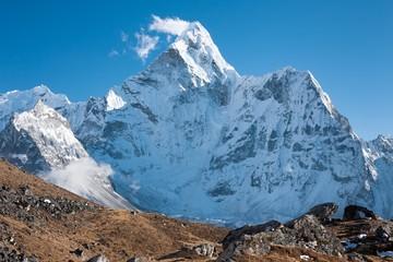Fototapete - Mt. Ama Dablam, Dingboche, Solu Khumbu, Nepal