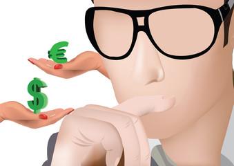 scelta valuta euro dollaro