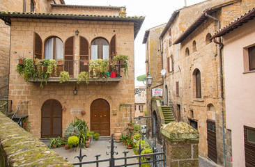 Orvieto still keeps a medieval town's atmosphere  中世の雰囲気を残すオルヴィエート