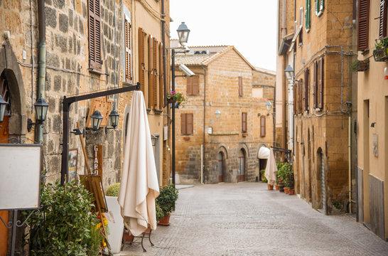 Orvieto still keeps a medieval town's atmosphere  中世の雰囲気を残すオルヴィエート