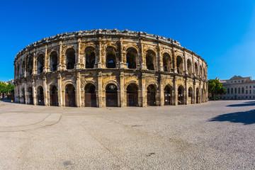 Roman amphitheater in Nimes, Provence