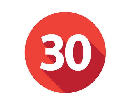 30 calendar holiday number