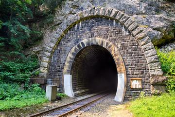 Stores à enrouleur Tunnel Train Tunnel - Harmanec, Slovakia