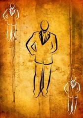 Businessman icon illustration