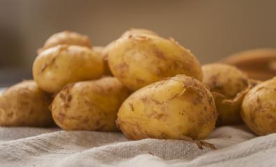 potatoes close up