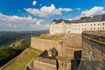 Festung Königstein, Deutschland Fototapete