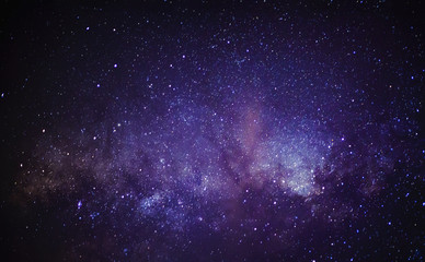 Foto op Canvas Heelal Milky Way