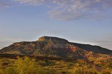 Mountain landscape of New Mexico