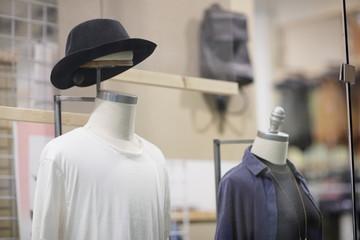 Mannequins in modern fashion