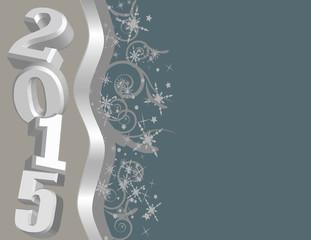 New Years 2015 Vector Clip Art