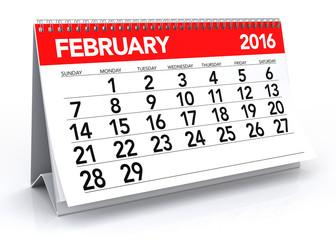 February2016 Calendar