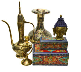 Still life with Indian culture objects