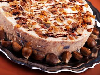 Tiramisu with chestnuts