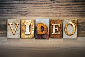 Video Concept Letterpress Theme