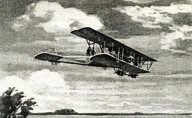 """Russian aircraft """"Ilya Muromets"""""""
