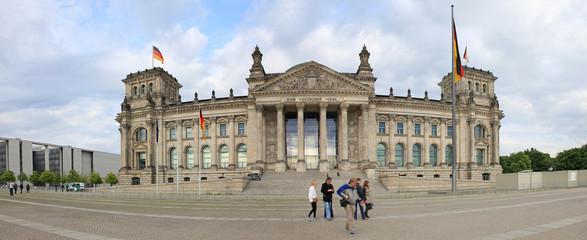 Foto op Canvas Berlijn Reichstag-Parlamento-Berlin-f15
