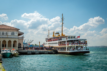 Ferry boat in Istanbul, Turkey