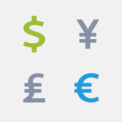 Currencies | Granite Alternative Icons