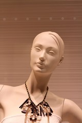 fashion mannequin for a women dresses boutique