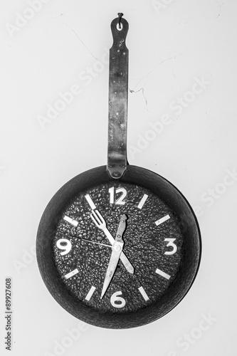 Reloj de cocina antiguo\