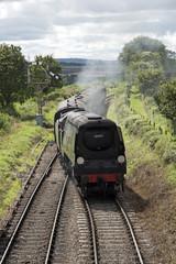 Wadebridge loco on The Watercress Line at Ropley Hampshire England UK