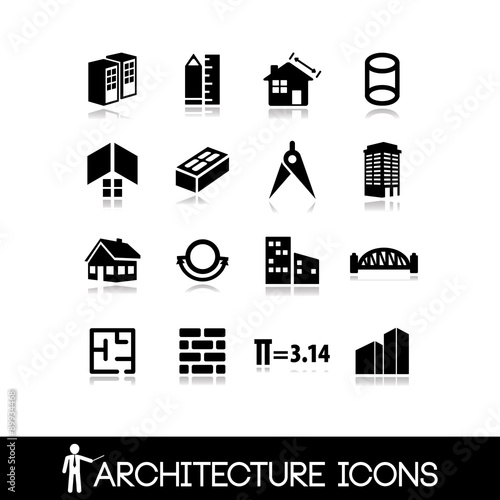 Architecture icon vector 8 stock image and royalty free for Architecture icon