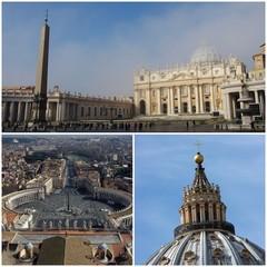 Vatican city - photo collage