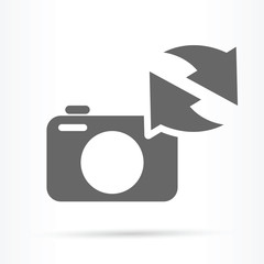 camera image update symbol icon