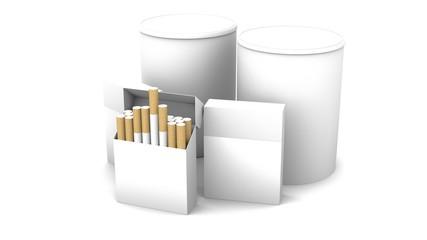 Zigarettenverpackung Mockup