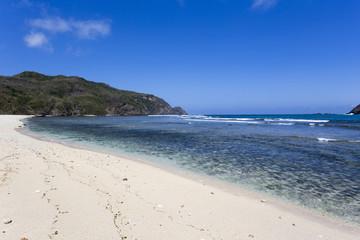Tanjung Aan beach in Kuta Lombok