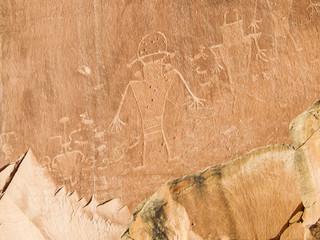 Ancient Petroglyphs, Capital Reef National Park, Utah 2015 – 08 – 29 1