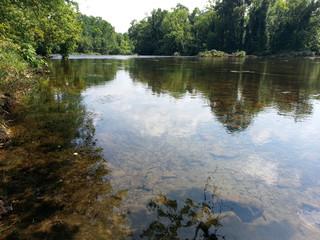 Sycamore Shoals of the Watauga River