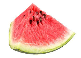 Watermelon fruit triangle slice